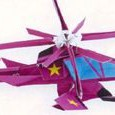 3d origami helicopter