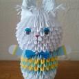 3d origami rabbit