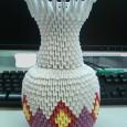 3d origami vase tutorial