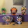 3d origami zebra