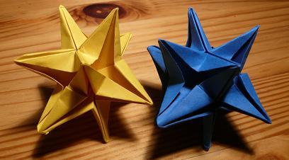 3d star origami