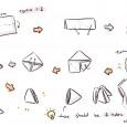3d triangle origami