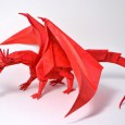 Ancient dragon origami