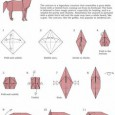 Animal origami tutorial