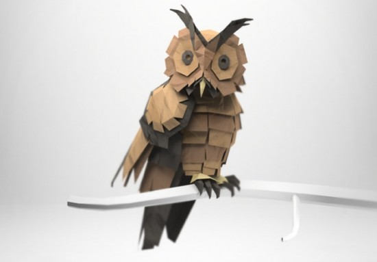 Animaux Origami 3d