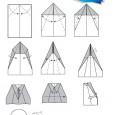 Avion en papier planeur