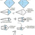 Basic origami swan