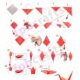 Beginner origami crane