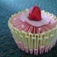 Birthday cake origami instructions