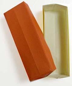 boite rectangle origami