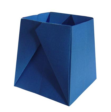 boite rectangulaire origami facile