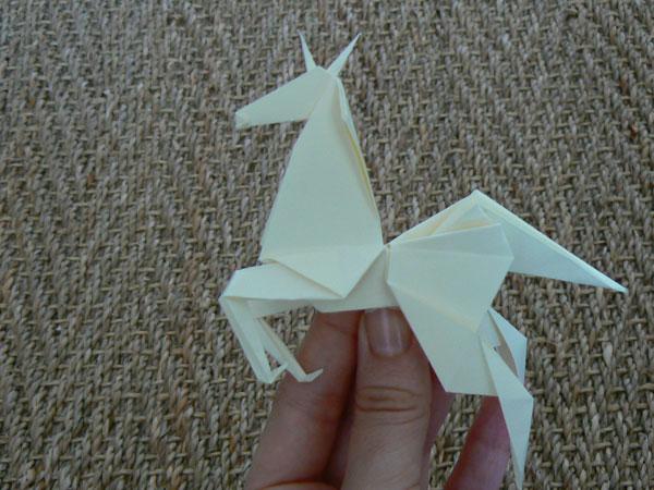 cheval origami facile