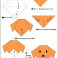 Chien origami