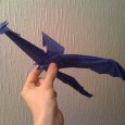 Comment faire un origami dragon