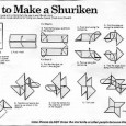 Comment faire un shuriken en papier