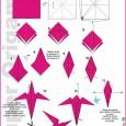 Como fazer origami passaro