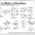 Como fazer uma kunai de origami