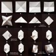 Cube papier origami