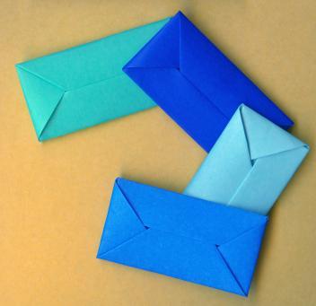 cute envelope origami