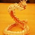 Dragon origami tuto