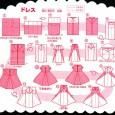 Dress origami