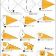 Easy lion origami