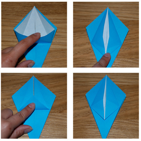easy origami flower lily
