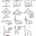 Easy origami giraffe