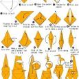 Easy origami monkey