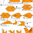 Easy origami squirrel