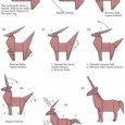 Easy origami unicorn