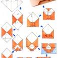 Enveloppe en origami