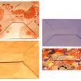 Enveloppe rectangulaire origami