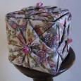 Fabric origami box