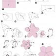 Fiori di ciliegio origami