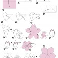 Fleur de cerisier origami