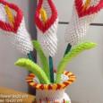 Fleur origami 3d