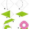 Fleur origami facile gratuit