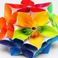 Fleure en papier