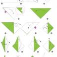 Grue origamie