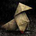 Heavy rain origami wallpaper