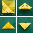 How to make origami butterfly step by step