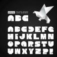 Letras en origami