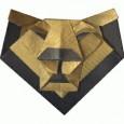 Lion face origami