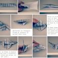 Mobile origami papillon