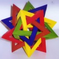 Modular origami tetrahedron