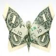 Money fold origami