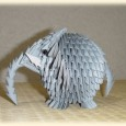 Origami 3d animaux