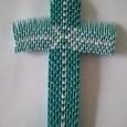 Origami 3d cross