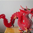 Origami 3d dragon instructions